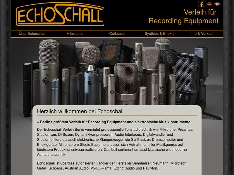 Screenshot von http://www.echoschall.de